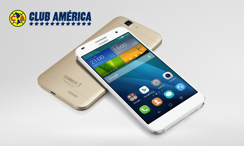 Huawei G7, el smartphone del América llega a México - Huawei-G7-celular-del-club-america