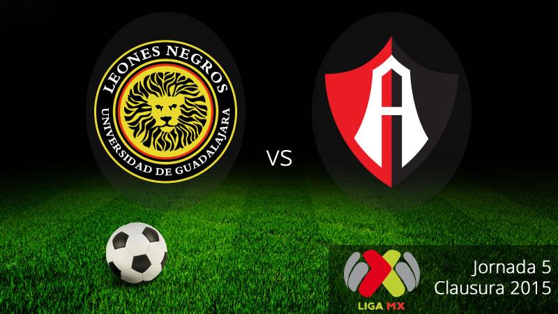 UDG vs Atlas, clásico tapatío en el Clausura 2015 - Leones-Negros-vs-Atlas-en-vivo-Clausura-2015