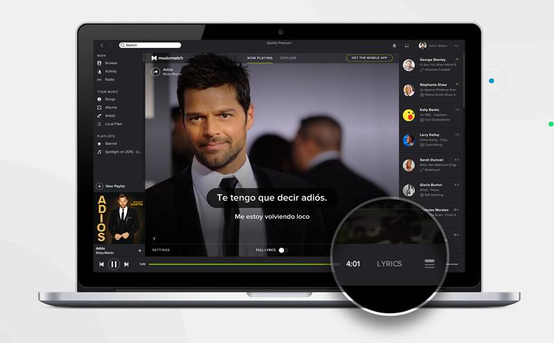 Letras de canciones ya se muestran en Spotify ¿Alguien dijo Karaoke? - Letras-de-canciones-Spotify