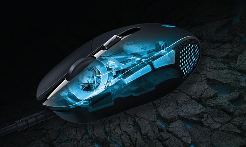 G302 Daedalus Prime de Logitech, el mouse para jugar MOBA - Mouse-G302-Logitech