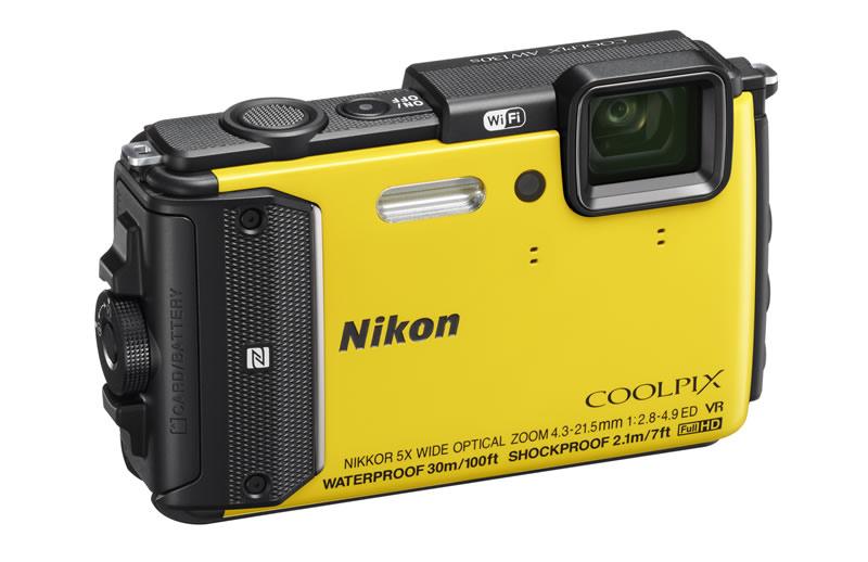 Nikon presentó dos cámaras resistentes al agua y más - Nikon-Coolpix-AW130