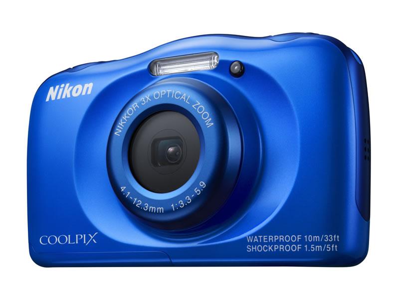 Nikon presentó dos cámaras resistentes al agua y más - Nikon-Coolpix-S33