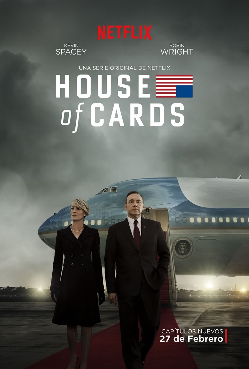 La tercera temporada de House of Cards ya tiene póster oficial - Poster-House-of-Cards-Tercera-Temporada
