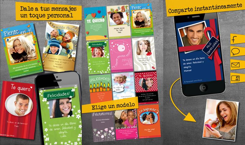 Tarjetas de San Valentín en tu celular con Appygraph