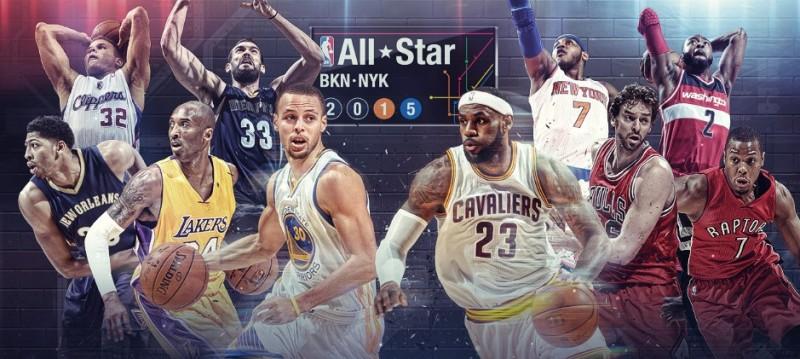 Fin de semana del Juego de Estrellas NBA en vivo desde el 13 al 15 de febrero - juego-de-estrellas-de-la-nba-2015-800x359