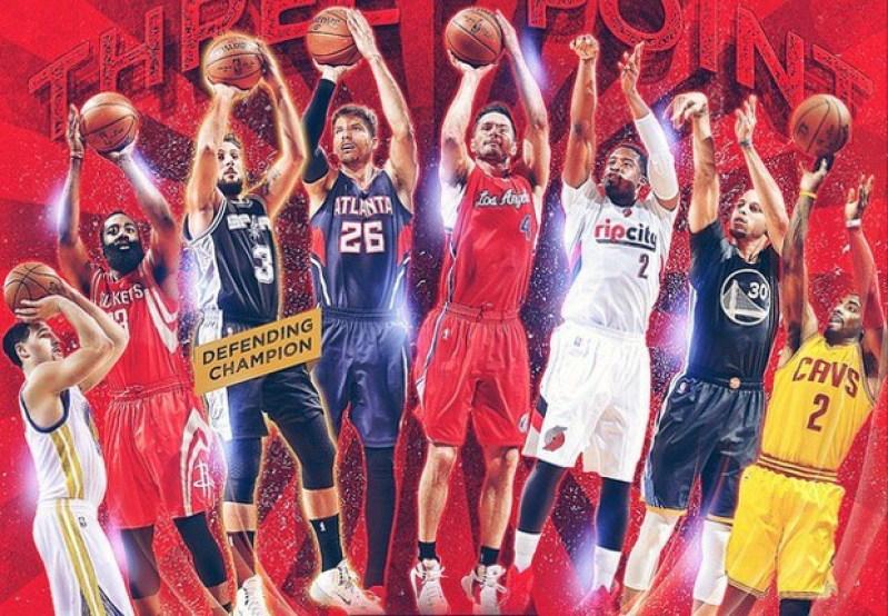 Fin de semana del Juego de Estrellas NBA en vivo desde el 13 al 15 de febrero - nba-juego-de-estrellas-tiros-de-3