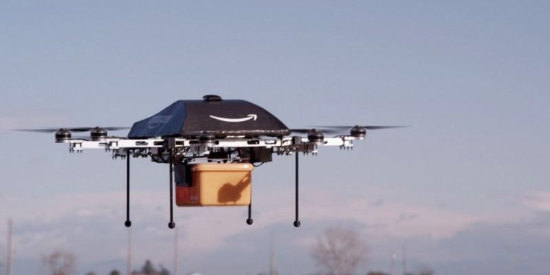 Amazon Prime Air inicia sus pruebas de Drones en Canadá - Amazon-Prime-Air-800x400