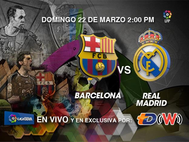 Barcelona vs Real Madrid 2015, Clásico de La Liga - Barcelona-vs-Real-Madrid-2015-en-vivo
