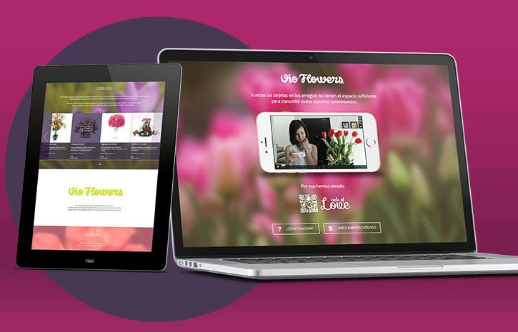 Code of love o cómo integrar la tecnología en un arreglo floral - Code-of-Love-Vio-Flowers-Arreglo-floral