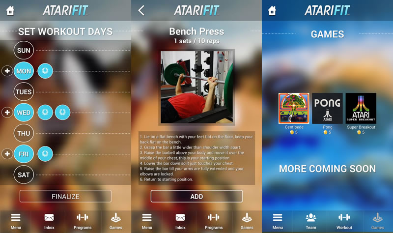 Atari lanza Atari Fit para iOS y Android - Descargar-Atari-Fit