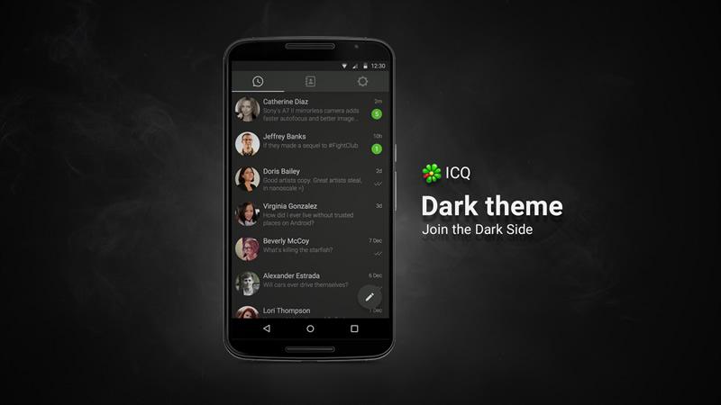 ICQ mejora su privacidad y añade soporte para Android 5 - Nuevo-ICQ-Android