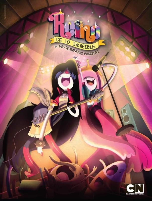 Las Princesas de Hora de Aventura alegrarán a los niños en abril - Reino-de-lo-Increible-Cartoon-Network-605x800