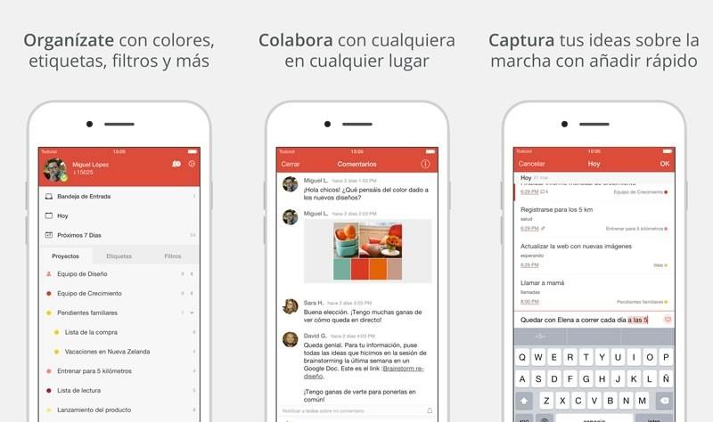 Todoist, la app para administrar tareas, lanza su versión 10 - Todoist-Administrar-tareas-800x474
