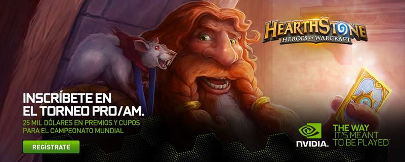 NVIDIA anuncia el torneo HearthStone Pro/AM - Torneo-HearthStone-Nvidia