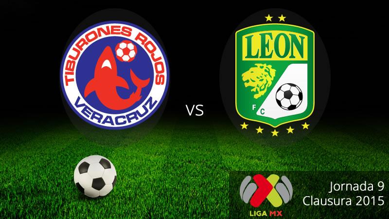 Veracruz vs León, Jornada 9 del Clausura 2015 - Veracruz-vs-Leon-Clausura-2015