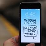 Unos wallpapers para celular que te quitarán la adicción a él - Wallpapers-para-celular-No-necesitas-Twitter