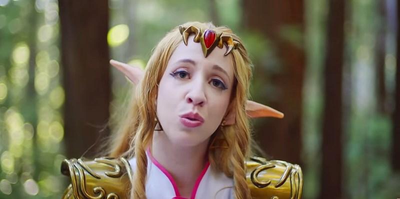 Tremenda interpretación de Zelda's Lullaby con letra