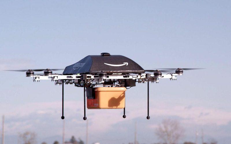 Amazon podrá repartir sus paquetes con drones. - amazon_drone_