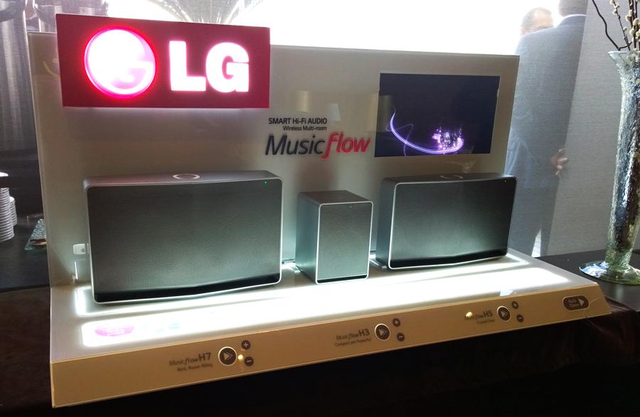 LG Music Flow el nuevo concepto de LG en audio y video - bocinas-multi-room