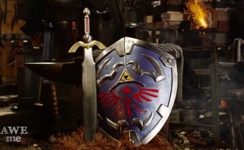 Recrean escudo Hylian de Link en «Man at Arms: Reforged» [Video]