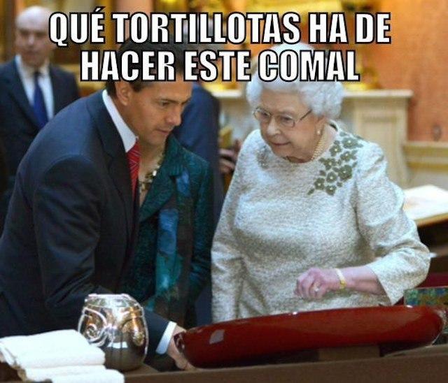 Lo mejor de la visita de Peña Nieto a UK en Memes - meme_uk4