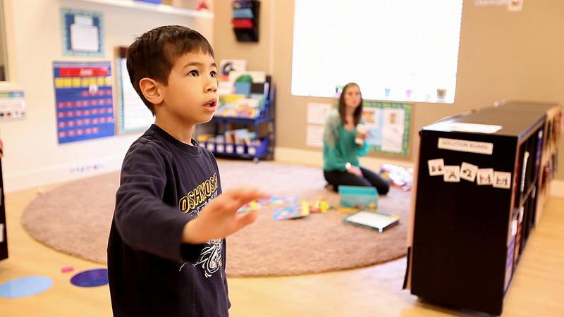 Crean software que enseña a leer en forma divertida a débiles auditivos - software-aprender-a-leer-kinect