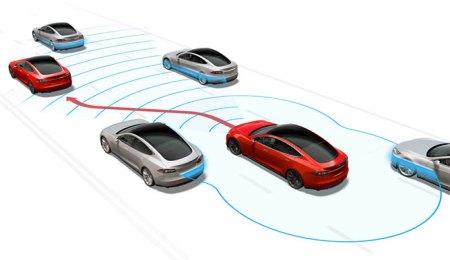 El futuro es ahora: Automóvil Tesla tendrá piloto automático en 3 meses