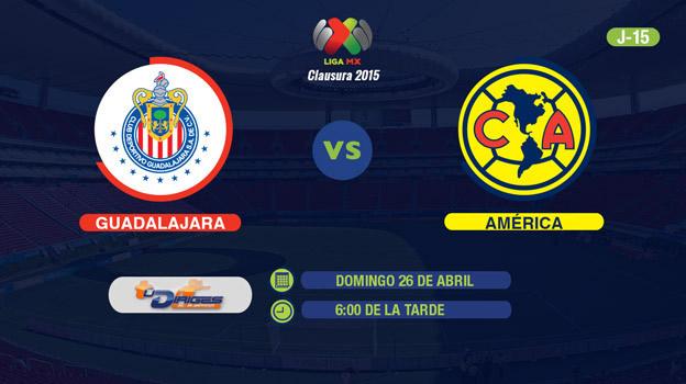 Chivas vs América, Clásico en el Clausura 2015 - Chivas-vs-America-2015-en-vivo-por-Televisa-Deportes-en-Internet