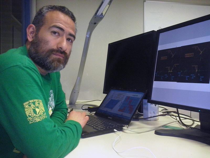 Mexicano participa en el desarrollo de un algoritmo que mejora tráfico aéreo - Jenaro-Nosedal-Sanchez-Algoritmo-Trafico-Aereo