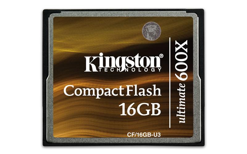 Kingston lanza lector de tarjetas de alta velocidad y una CompactFlash de 64GB - Kingston-CompactFlash