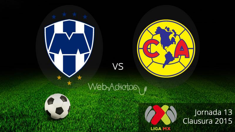 Monterrey vs América en el Clausura 2015 - Monterrey-vs-America-Clausura-2015