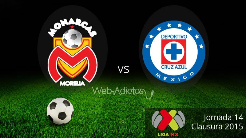 Morelia vs Cruz Azul en el Clausura 2015 - Morelia-vs-Cruz-Azul-Clausura-2015