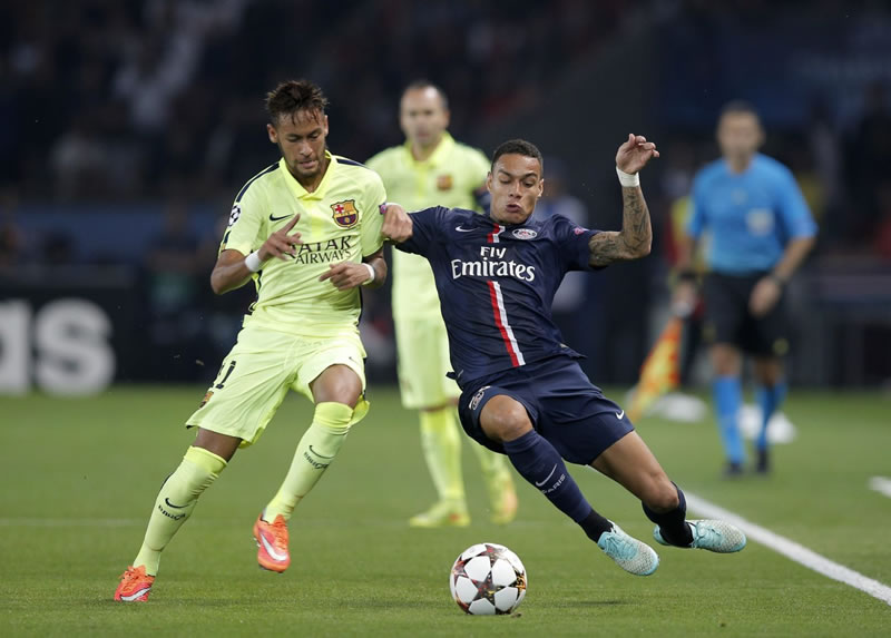 PSG vs Barcelona, Champions 2015 (ida) - PSG-vs-Barcelona-2015-Champions-League