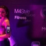 La mexicana M4, lanza su smartphone M4 Style SS4045 - SERIE-SS4045-M4-style-fitness