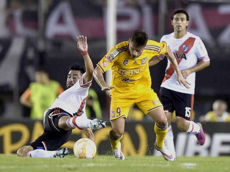 Tigres vs River en la Libertadores 2015 - Tigres-vs-River-Plate-Libertadores-2015