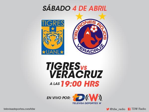Tigres vs Veracruz en el Clausura 2015 - Tigres-vs-Veracruz-2015-en-vivo-por-radio