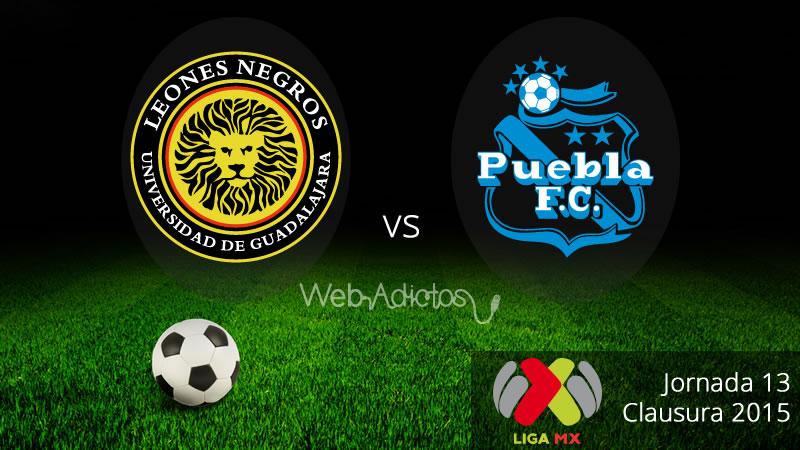 UDG vs Puebla en el Clausura 2015 - UDG-vs-Puebla-Clausura-2015