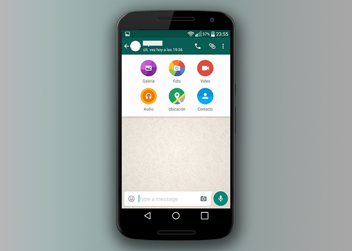 WhatsApp para Android se actualiza a Material Design - WhatsApp-Material-Design