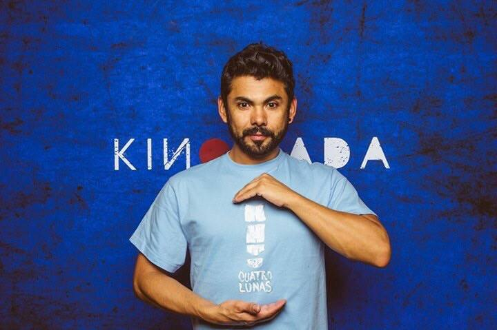 Un actor mexicano presente en Kinomada 15 en Québec, Canada. - actor-mexicano-Alejandro-Belmonte-cuatro-lunas