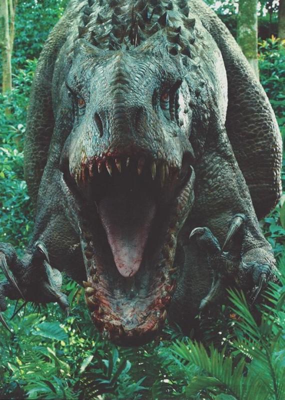 Se revela la apariencia final del nuevo dinosaurio híbrido de Jurassic World - indominus-rex-jurassic-world-570x800