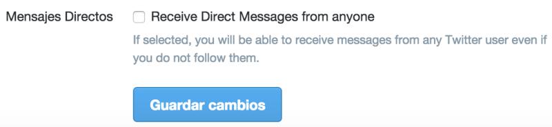Twitter ya permite recibir DMs de usuarios a los que no sigues - mensajes-directos-twitter-800x184