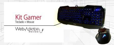 Kit Gamer: Teclado + Mouse de Acteck