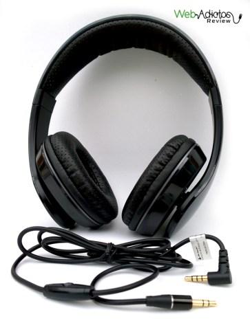 Audífonos con micrófono Audition Dual de Ackteck - review-audifonos-acteck