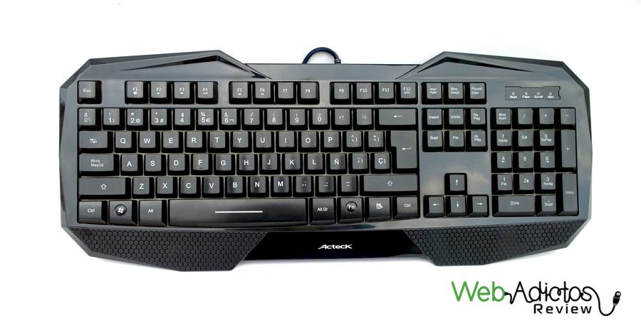 Kit Gamer: Teclado + Mouse de Acteck - teclado-gamer-1