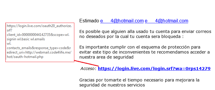 Correo estafa hotmail Alertan a usuarios de Hotmail (Outlook) sobre una nueva estafa