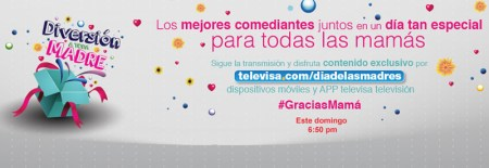 Disfruta el especial de Día de la madre de Televisa en vivo por internet