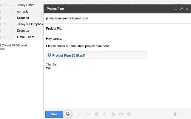 Dropbox se integra con Gmail para enviar archivos más fácil - Enviar-archivos-pesados-Gmail