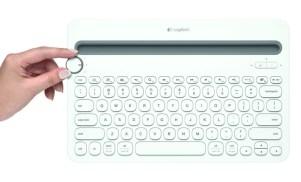 Logitech presenta un teclado inalámbrico para PC, smartphone y tablet - K480-Teclado-Inalambrico-Logitec