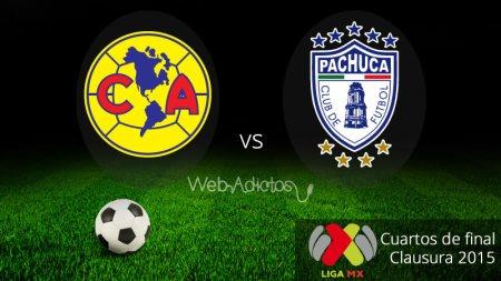 Pachuca vs América, Liguilla del Clausura 2015 (Ida)
