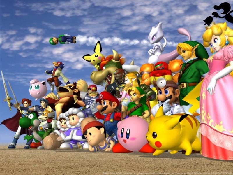 Top 5 de los Mejores Videojuegos de Peleas - super-smash-bros-800x600
